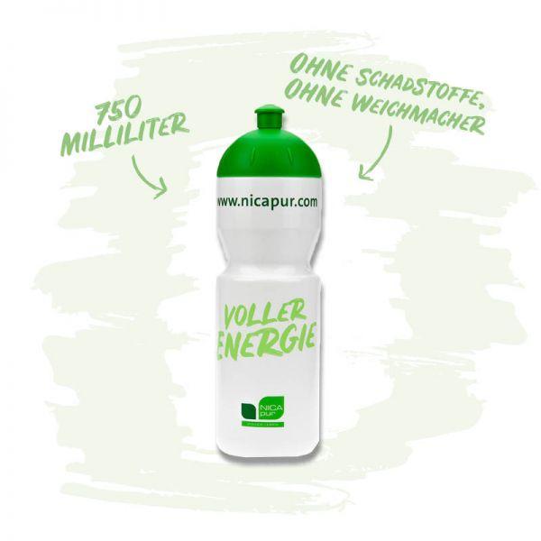 Sport -Trinkflasche-Für deine Aktivitäten im Alltag - 750 ml - Ohne Schadstoffe und Weichmacher