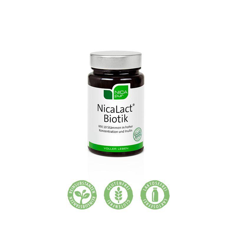 NICApur NicaLact® Biotik - Darmbakterien - ideal für die Reise oder zwischendurch