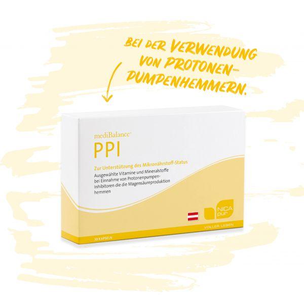 mediBalance® PPI - Bei Einnahme von Protonenpumpenhemmern