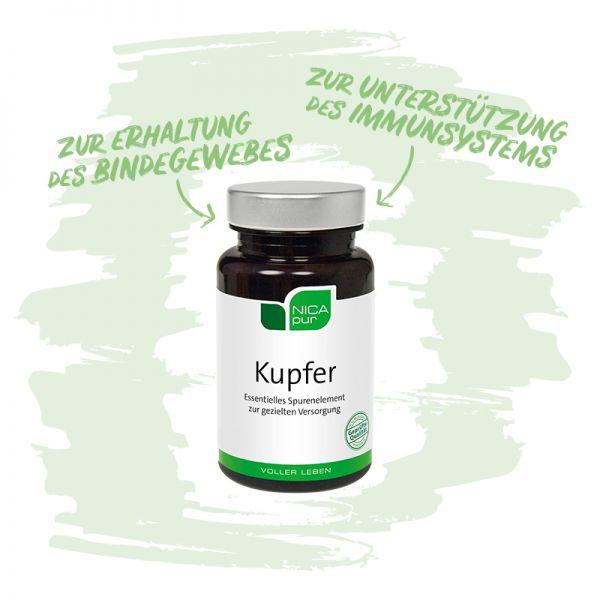 Kupfer - Zur Erhaltung deines Bindegewebes und zur Unterstützung deines Immunsystems