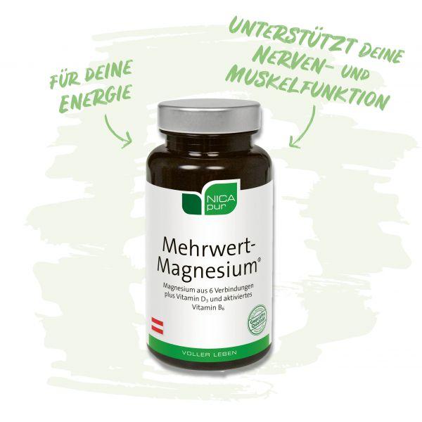 Mehrwert-Magnesium® - Unterstützt deine Nerven und Muskelfunktion