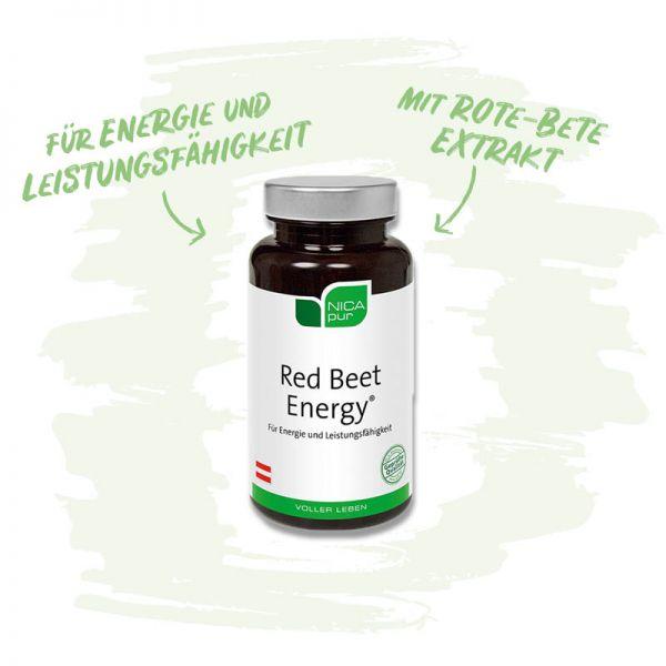 Red Beet Energy®- Für deine Energie und Leistungsfähigkeit mit Rote-Bete-Extrakt