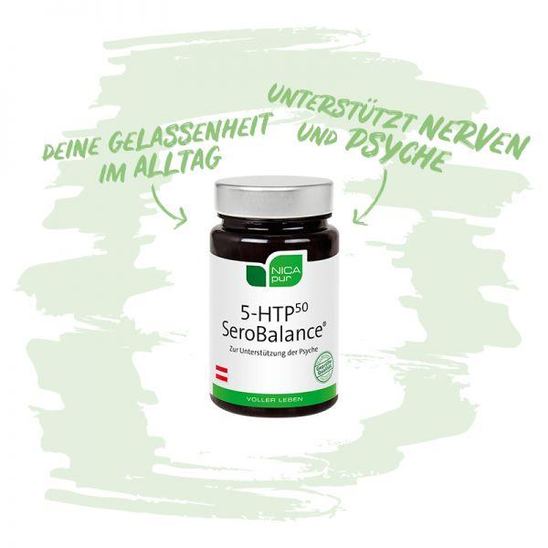 5-HTP50 SeroBalance® -  Zur Unterstützung deiner Psyche und Nerven
