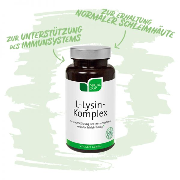 L-Lysin Komplex - Zur Unterstützung deines Immunsystems und deiner Schleimhäute