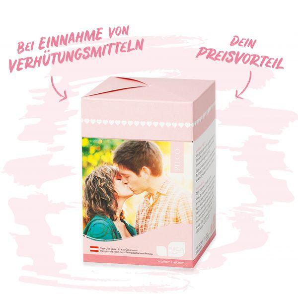 mediBalance® PILCO 3er  Box - Bei Einnahme von Verhütungsmitteln -Hol dir deinen Preisvorteil!