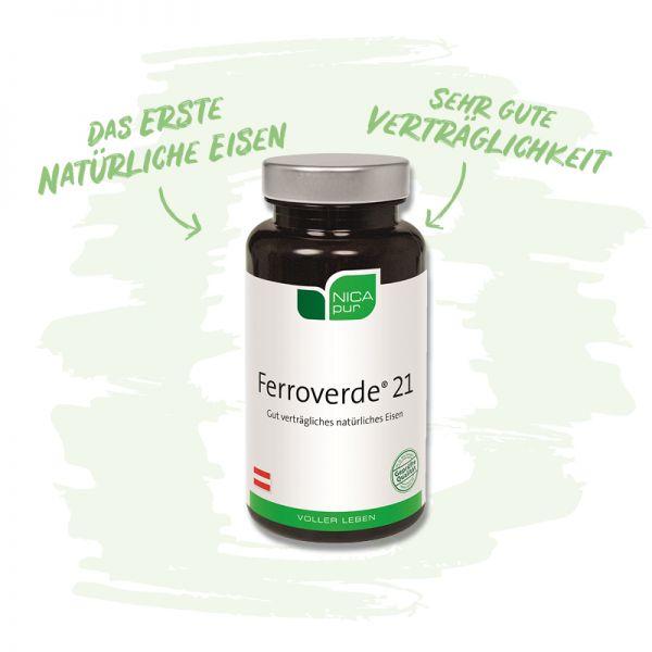 Ferroverde® 21- Gut verträgliches natürliches Eisen - Wichtig für die Funktion des Immunsystems
