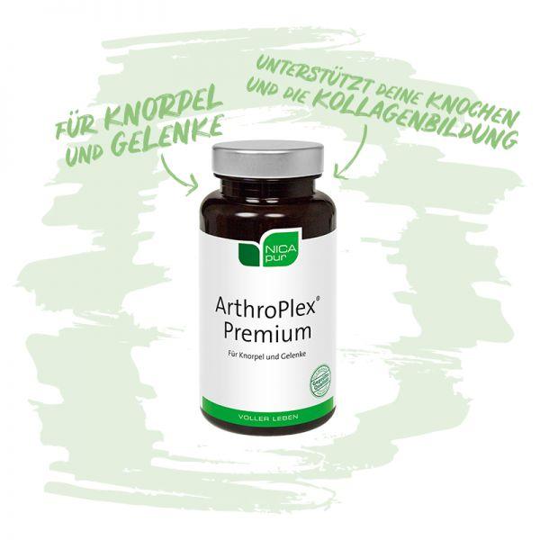 ArthroPlex® Premium Zur Erhaltung deiner Knorpel und Gelenke im Sinne der Bewegung