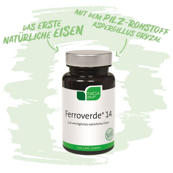 Ferroverde® 14 - gut verträgliches natürliches Eisen