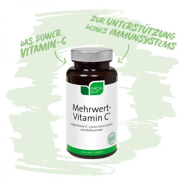 Mehrwert-Vitamin C® - Das Powervitamin C zur Unterstützung deines Immunsystems