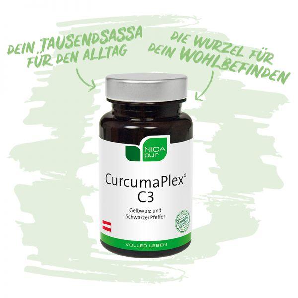 CurcumaPlex® C3 - Ein wahrer Tausendsassa - Die Wurzel für dein Wohlbefinden
