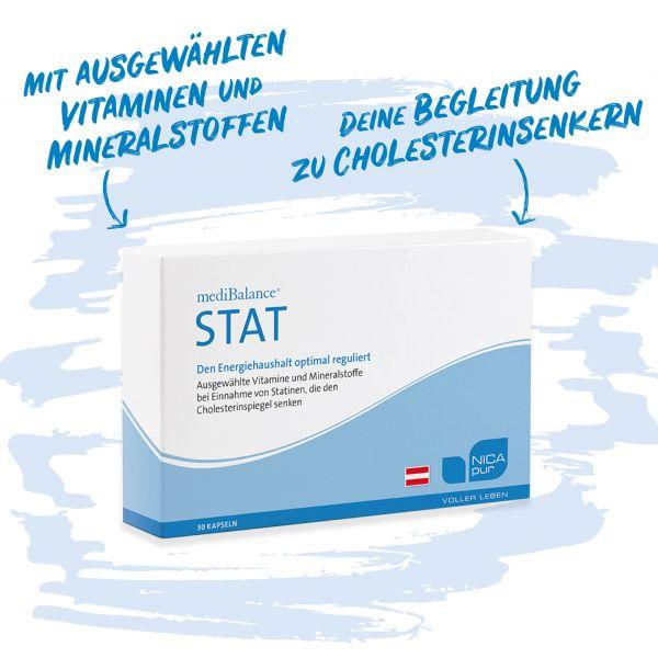 mediBalance® STAT - Bei Einnahme von Cholesterinsenkern