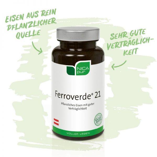 Ferroverde® 21- Gut verträgliches pflanzliches Eisen - Wichtig für die Funktion des Immunsystems