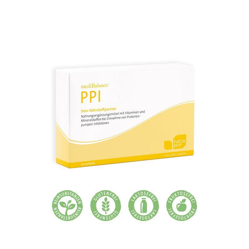 NICApur mediBalance® PPI - 30 Kapseln