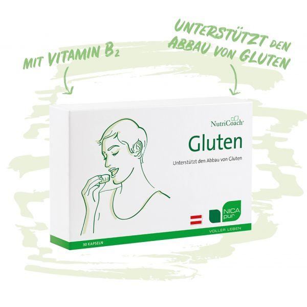 Gluten - Unterstützt den Abbau von Gluten