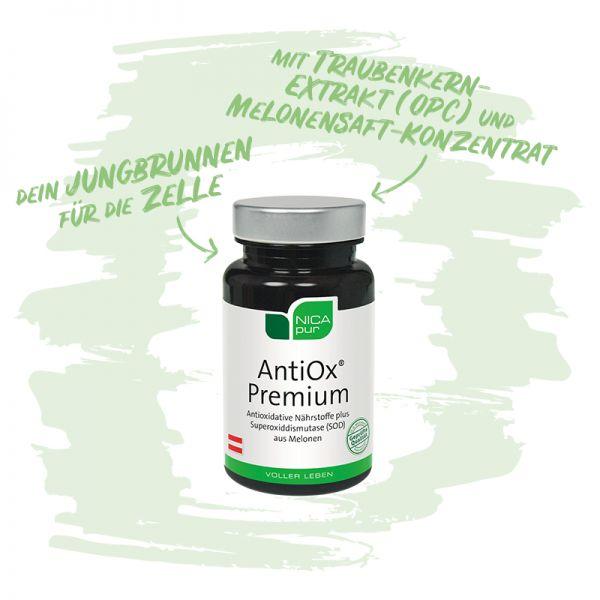 AntiOx® Premium - die Antioxidantien-Kombi für gesunde Zellen