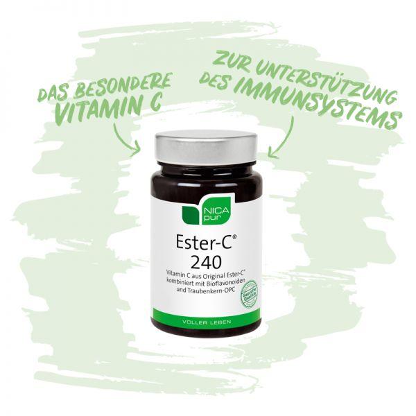 Ester-C® 240 - Zur Unterstützung deines Immunsystems