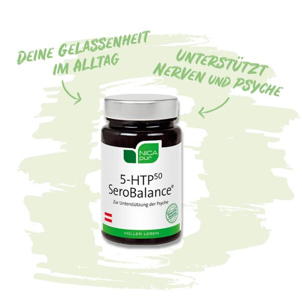 5-HTP SeroBalance® Zur Unterstützung deiner Psyche und Nerven